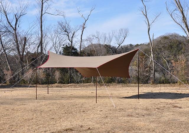 Takibi-Tarp Cotton Hexa