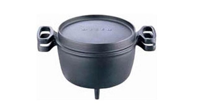 デザインが独特なoigen ダッチオーブン天火 26cm