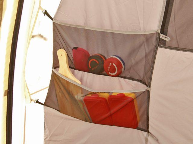 カマボコテント2のインナーポケットのアップ画像
