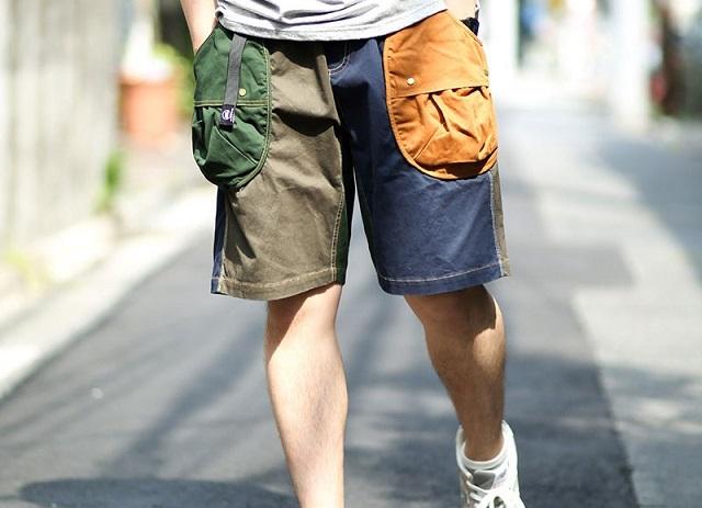 gym masterドロップポケットを履く男性