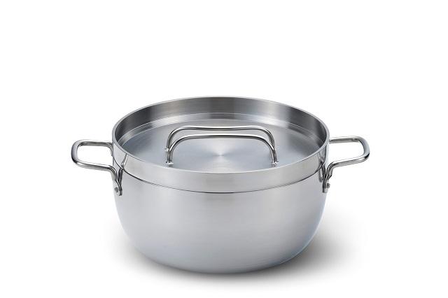 つるを取ったTS BBQ ライトステンレスダッチオーブン10