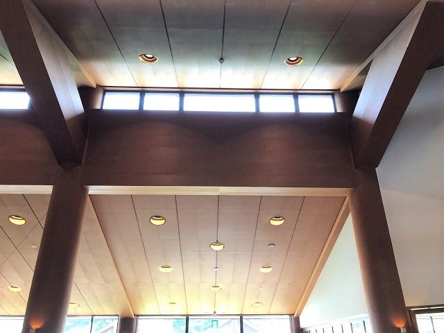 センターハウスの天井