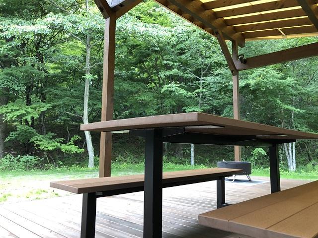 ピカフジヤマのテントサイト
