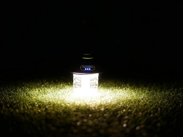 人工芝に置いて最大の明るさにした