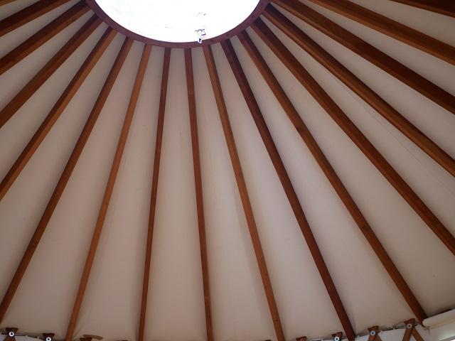 パオの天井