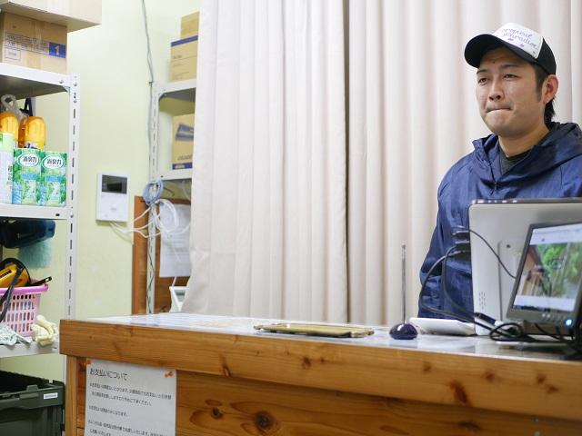 富士満願ビレッジファミリーキャンプ場スタッフさん