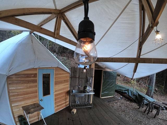パオテントの電球
