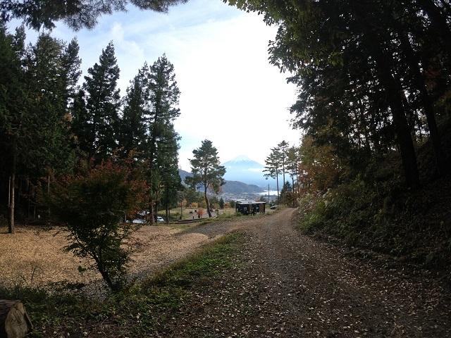 パオテントから見る景色