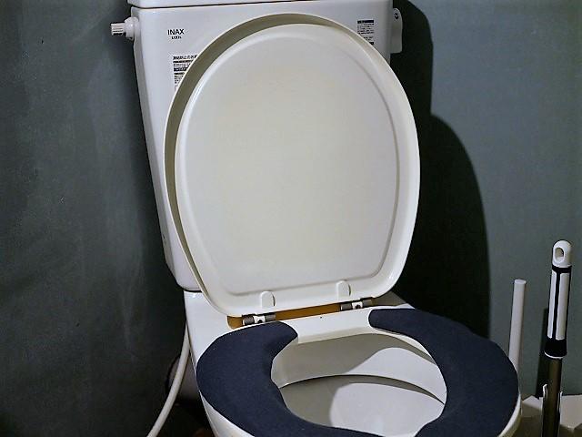 パオテントのトイレ