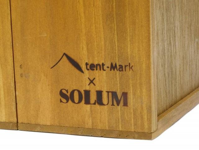 SOLUMとテンマクデサイン スパイスボックスロゴ