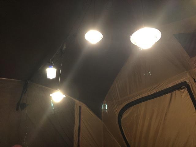 ベアボーンズのライト