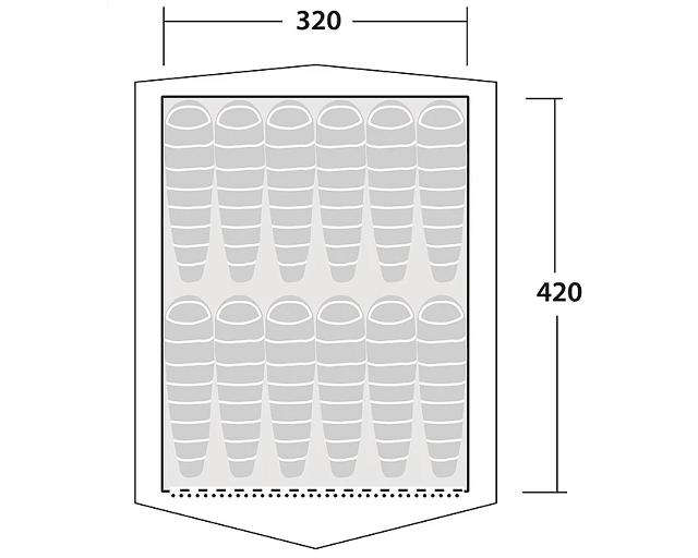 プロスペクター平面サイズ