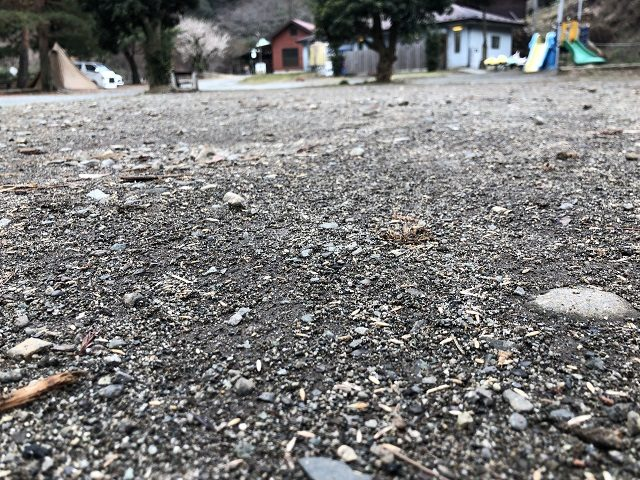 砂利の場所