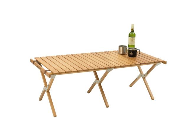 ウッドロールテーブル