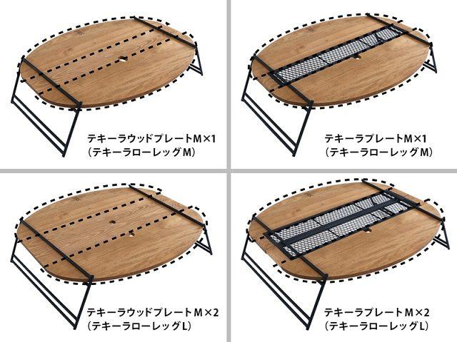 テーブルの拡張パターン