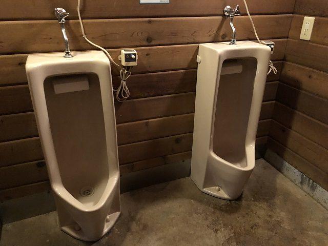 キャンオプサイトのトイレ