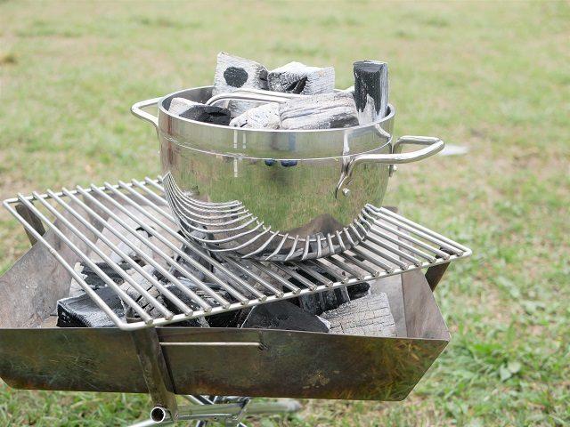 ダッチオーブン炭