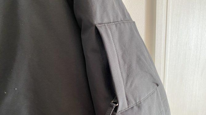 左腕のポケット