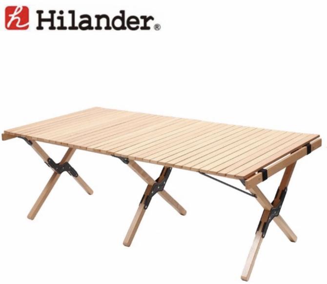 ハイランダーウッドロールトップテーブル
