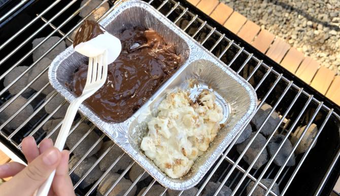 バーベキュー&チョコレート