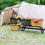 テントの前Starke-R