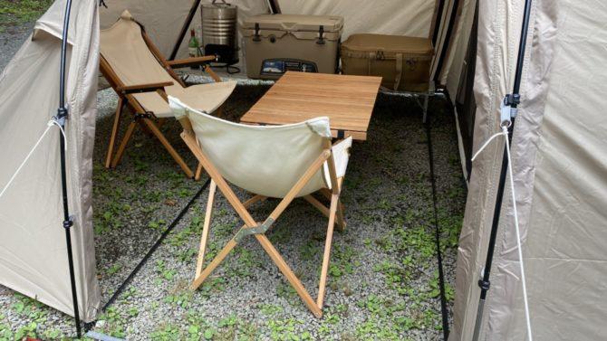 5人用テーブルと椅子2