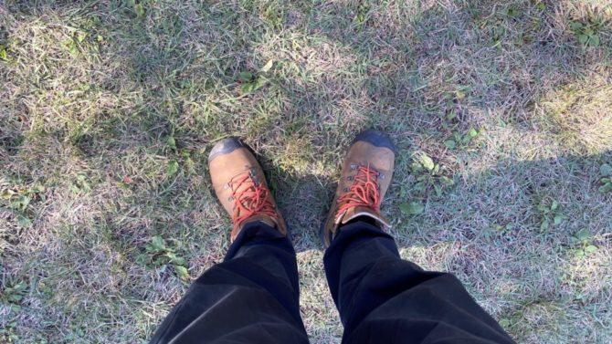 キーンのブーツ