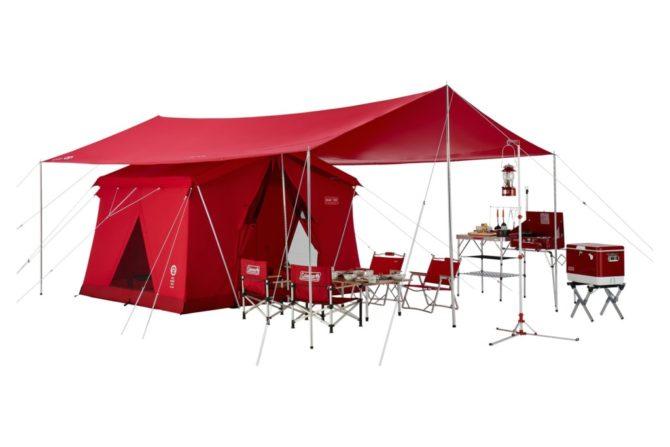 テント・タープ使用例