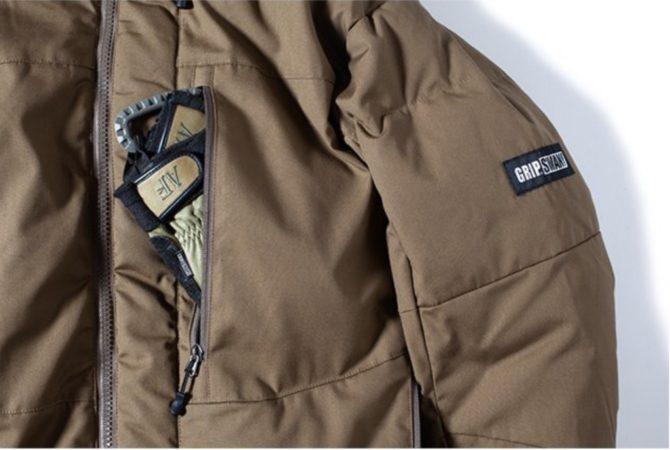FIREPROOF DOWN JKT2.0胸ポケット