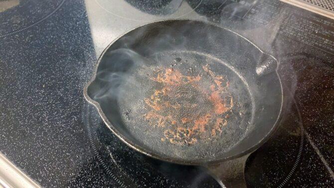 お肉3回焼き終わり