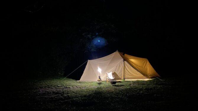 暖色テント