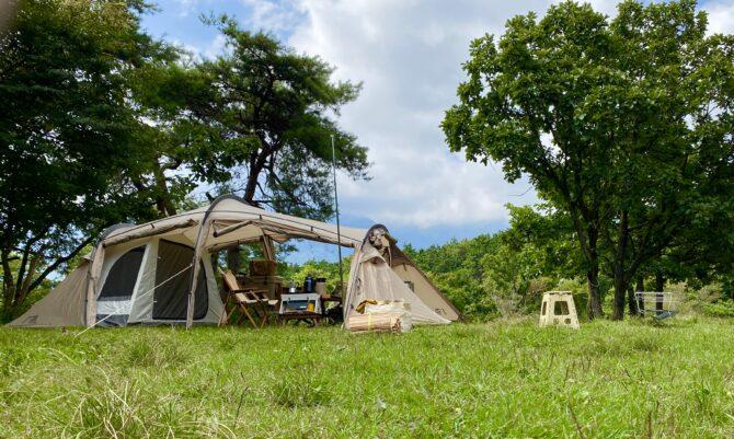 快適なキャンプ