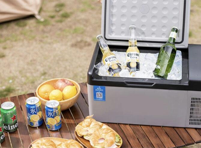 EVOKEのポータブル冷蔵庫
