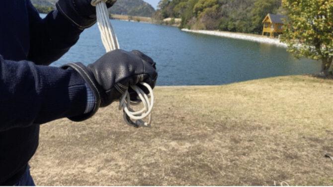ロープ作業
