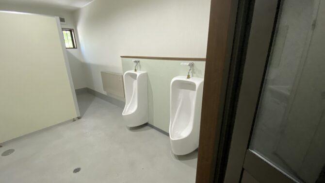 トイレ覗く