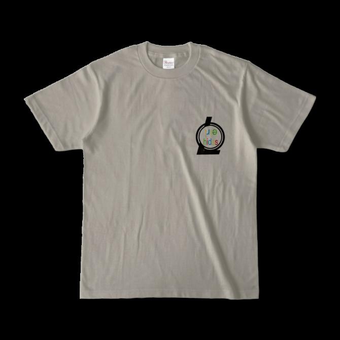 ロゴTシャツシルバーグレー